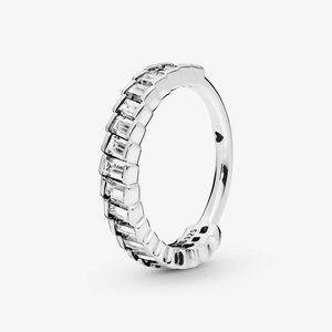 Pandora Sparkling Ice Cube Ring